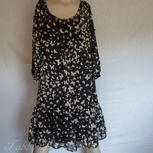 butterfly Lauren Conrad dress